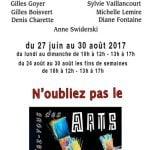 Rendez-vous des arts,-Papineauville -  Vue sur l'art 2017